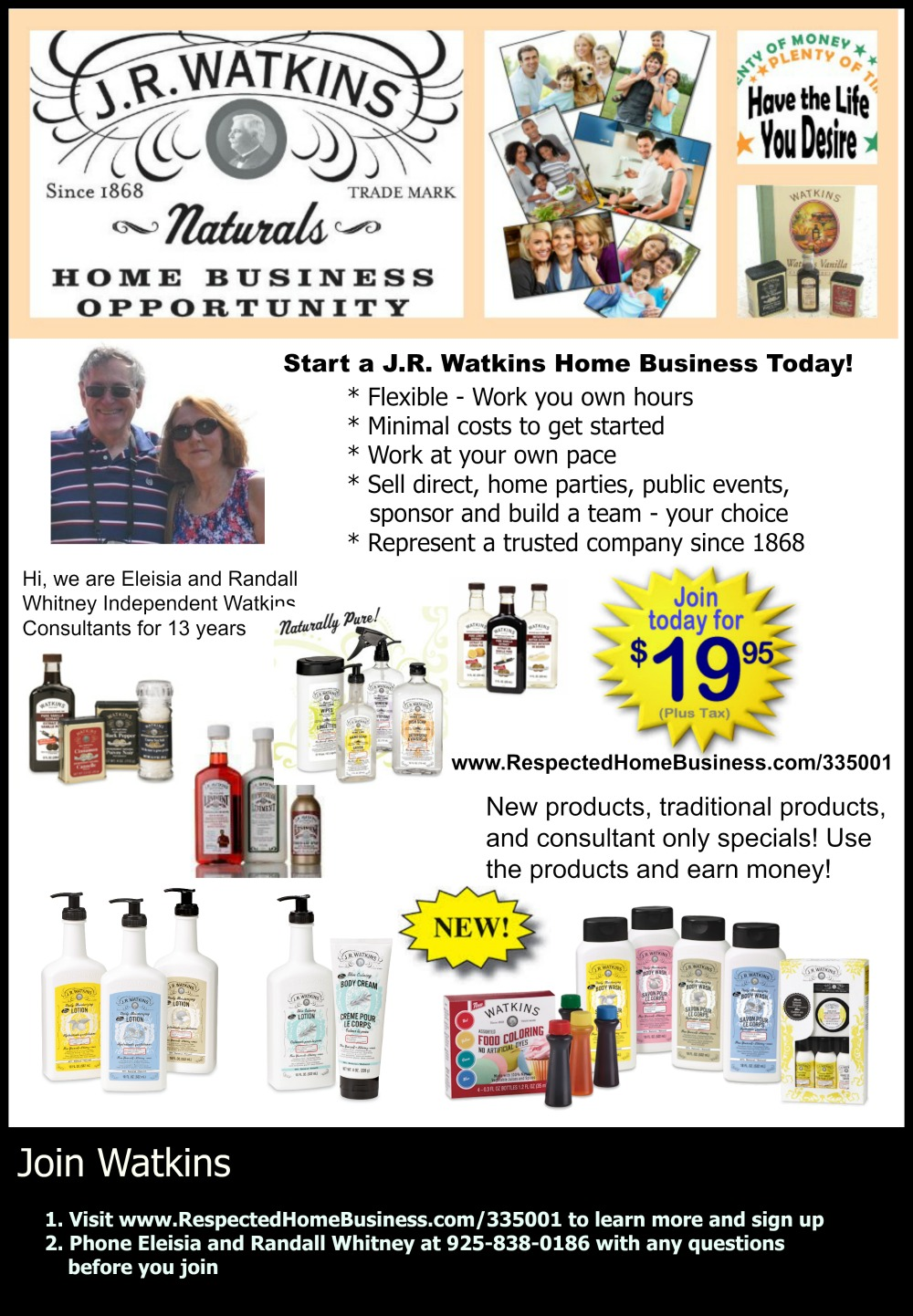 Watkins Home Business and Watkins Products